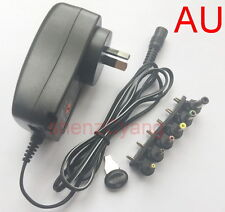 AU 30W power supply Universal Adapter AC/DC 3V4.5V5V6V7.5V9V12V 2.5A USB 5V 2.1A