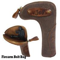 New Firearm Bolt Bag - Protect Rifle Bolts Storage Canvas - Gun Bolts Pouch Case