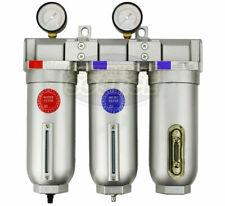 1 Inline Compressed Air Filter Desiccant Dryer Moisture Separator Trap Combo