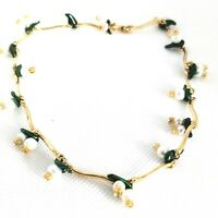 MMA Metropolitan Museum of Art Lily of The Valley Pearl Necklace