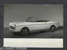 PRESS - FOTO/PHOTO/PICTURE - Peugeot 404 Cabriolet Carrozerria Pininfarina