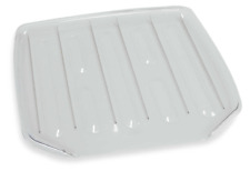 New and Large Clear Drain Dish Rack Sink Drainer Board Antimicrobial Rubbermaid