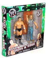 "`WWE Jakks Pacific Randy Orton Edge Team RKO K-Mart 7"" Figure Set!"