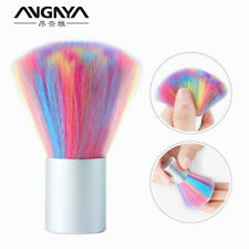 1pc Soft Colorful Nail Brush Acrylic UV Gel Powder Dust Remover Cleaning Tool