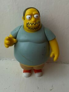 PLAYMATES INTERACTIVE THE SIMPSONS SERIES COMIC BOOK GUY ACTION FIGURE WOS