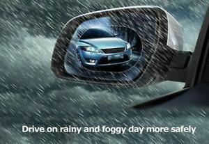2Pcs Anti-Fog 95 oval  Car truck Rear Side Mirror window Waterproof Protect Film