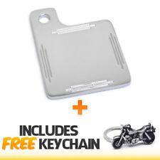 Universal Motorcycle Inspection Sticker Renewl License Plate+Cruiser Keychain