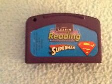 LEAP 2 READING SUPERMAN Game Cartridge Leap Pad