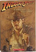 INDIANA JONES & RAIDERS OF THE LOST ARK (2008) Scholastic illustrated SC 1st