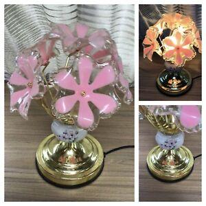 Vintage Retro Flower Touch Lamp