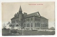 School Building ALLIANCE NE Vintage Nebraska Postcard