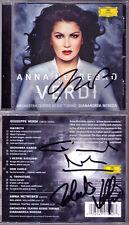 Anna NETREBKO, Rolando VILLAZON & NOSEDA Signiert VERDI Macbeth Il Trovatore CD