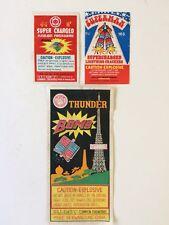 Vintage Fire Cracker Lables,Good Condition.