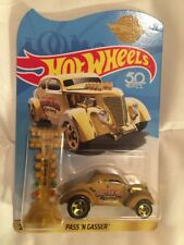 2018 Hot Wheels PASS'N GASSER USA SHIP IN HAND Gold VHTF!! RLC MAIL-IN