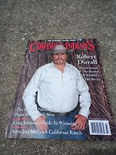 COWBOYS & INDIANS Magazine July 2014 Summer Travel Issue ROBERT DUVALL