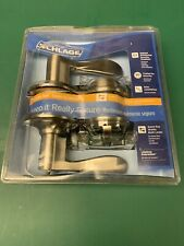 schlage g1 door lever and deadbolt set brand new in package