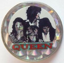 QUEEN 'GROUP'  CRYSTAL BADGE ORIGINAL