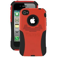 Trident Case AG-IPH4-RD Aegis Series Case for Apple iPhone 4/4S - Red