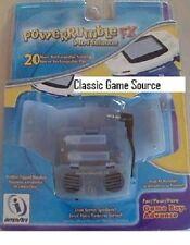 NEW Game Boy Advance Original Power Rumble FX 20 Hr Rechargeable Battery Blue