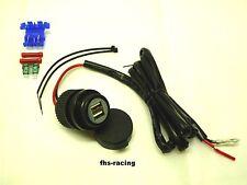 12 V Doppel-USB-Einbausteckdose , Steckdose , Auto Motorrad Roller Boot Traktor