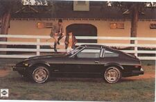 Datsun 280 ZX Original USA Issue Postcard