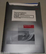 Werkstatthandbuch Audi A2 Fahrwerk Frontantrieb ab 2001