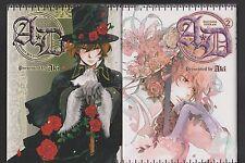 A.D ANGEL'S DOUBT tomes 1 et 2 Aki Série COMPLETE manga shojo