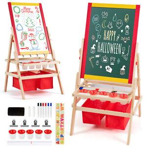 3 in 1 Kinder Staffelei Kindertafel Whiteboard Standtafel Spieltafel