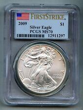 2009 American Silver Eagle Dollar PCGS MS 70