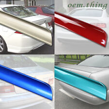 PAINTED BMW E46 3-SERIES 4D Sedan Rear Trunk Boot Lip Spoiler Wing 99-05 323i
