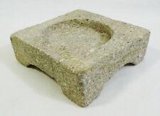 Small Stone Planter Base Candle Holder