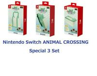ANIMAL CROSSING Bags & Storage Case for Nintendo Switch Hori Official Set of 3
