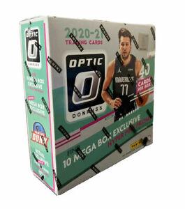 DONRUSS OPTIC 2020-21 NBA BASKETBALL FACTORY SEALED MEGA (40 CARDS) BOX