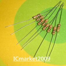 20//100//500//1000PC 1//4W .25 Watt 1/% Tolerance Metal Film Resistors USA SELLER