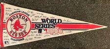 1986 Boston Red Sox American League Champions World Series Felt Pennant