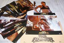 TOMB RAIDER le berceau de la vie lara croft  ! jeu 12 photos cinema lobby cards