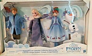 Olaf's FROZEN Adventure Festive Friends Collection Disney Hasbro Elsa Anna Sven