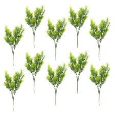 10Pcs Artificial 30cm Plastic Cedar Tree Indoor Decorative Outdoor Realistic