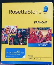 Rosetta Stone French Level 1-5  for Mac and PC. New In Box. Version 4