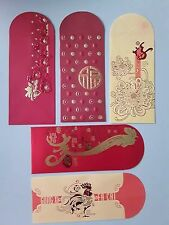 Ang Pao Red Packet Trigometric Year of Rooster  2017 set of 5