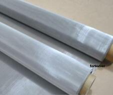 300 mesh filtration 80*100cm woven wire 316 Stainless Steel Screening Filter