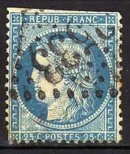 Francia ( France ) : 1871 25 Centimes Céres ( used )