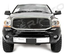 06-08 Ram 1500+06-09 Ram 2500+3500 Big Horn Black Packaged Grille+Chrome Shell
