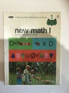 Vintage Whitman New Math Workbook - Ages 5-8