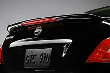 Fits Nissan Maxima 2009-2015 PRE-Painted W/LIGHT ABS SPOILER WING NEW ALL COLORS
