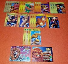OVERPOWER Thing LOT 3-stat hero 20 sp Marvel Clobberin/' Time Aunt Petunia Bucket