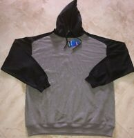 Champion Fashion Pullover Hoodie 2XL Gray Black New