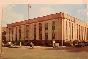 Indiana IN Gary US Post Office Postcard Old Vintage Card View Standard Souvenir