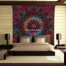 Tie Dye Star Mandala Wall Hanging Tapestry Indian Queen Size Bedding Bed Cover