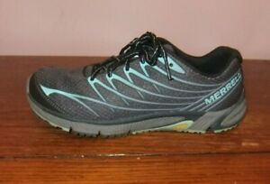 Merrell Womens Bare Access Arc 4 Mesh Athletic Sneakers Teal Size 6 M US